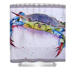 Crabby Shower Curtain