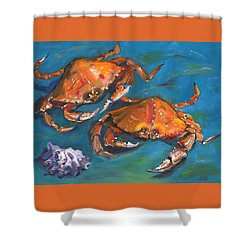 Crabs Shower Curtain