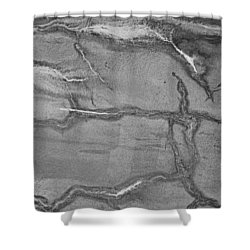 Shower Curtain featuring the photograph Cracked by Kristin Elmquist