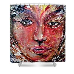 Cracked Soul Shower Curtain