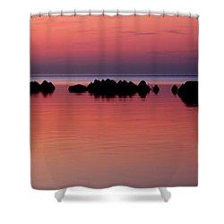 Cracking Dawn Shower Curtain by Joe  Ng