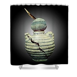 Crackpot Ninja Warrior From Maine Shower Curtain