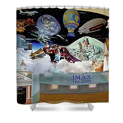 Cradle Of Aviation Museum Shower Curtain