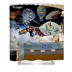 Cradle Of Aviation Museum Imax Theatre Shower Curtain