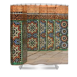 Shower Curtain featuring the photograph Craftsmanship by Ramona Johnston
