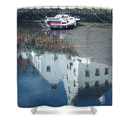 Crail Reflection I Shower Curtain