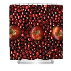 Cranapple Shower Curtain