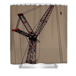 Crane's Up Shower Curtain