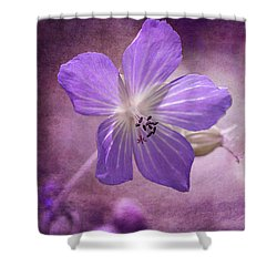 Cranesbill Shower Curtain