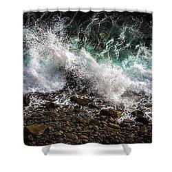 Crashing Surf Shower Curtain