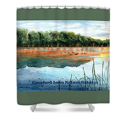 Crawford Lake Nature Estates Shower Curtain by LeAnne Sowa