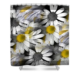 Crazy Daisys Shower Curtain