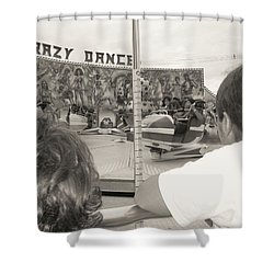 Shower Curtain featuring the photograph Crazy Dance by Beto Machado