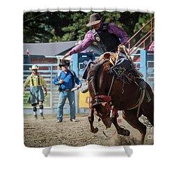 Crazy Horse Shower Curtain