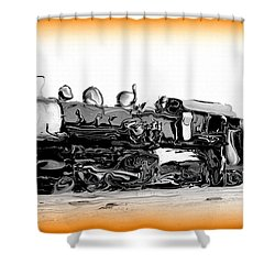 Crazy Train 2 Shower Curtain