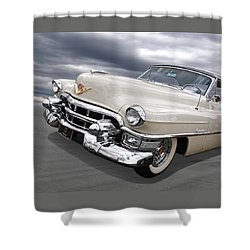 Cream Of The Crop - '53 Cadillac Shower Curtain