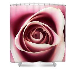 Creamy Pink Shower Curtain