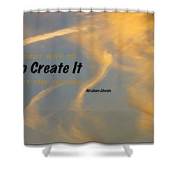 Create Greatness Shower Curtain