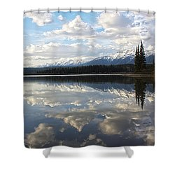 Created - He Is Calling Shower Curtain