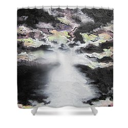 Creation Shower Curtain by Cheryl Pettigrew