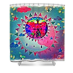 Creation Shower Curtain