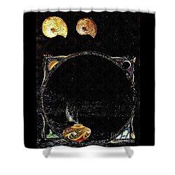 Creation Of Water Shower Curtain by Sarah Loft