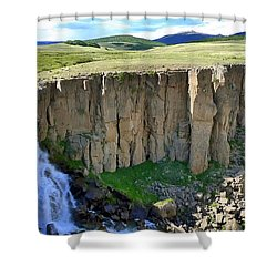 Creation Shower Curtain by Skip Hunt