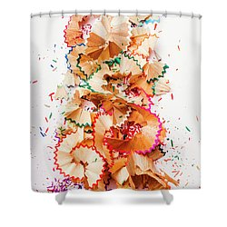 Creative Mess Shower Curtain