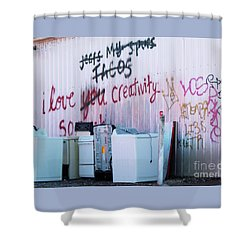 Shower Curtain featuring the photograph Creatively Yours by Joe Jake Pratt
