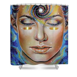 Creatrix Shower Curtain