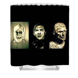Creature Feature Shower Curtain by Fred Larucci