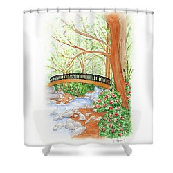 Creek Crossing Shower Curtain