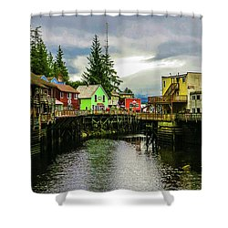 Creek Street 1 Shower Curtain