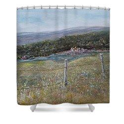 Creek Walk Shower Curtain