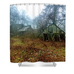 Creepy House Shower Curtain