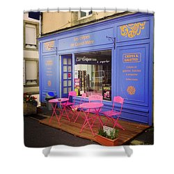 Creperie At France Shower Curtain