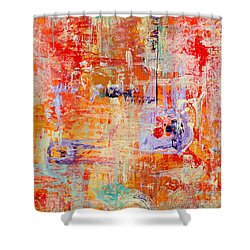 Crescendo Shower Curtain by Pat Saunders-White