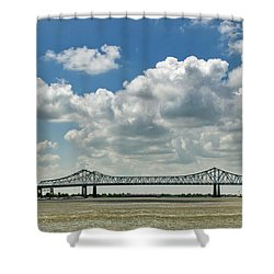 Crescent City Connection Shower Curtain