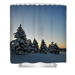 Crescent Dawn Shower Curtain