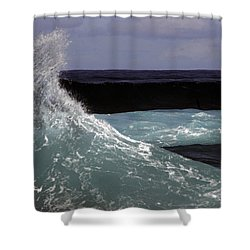 Crest, North Beach, Oahu Shower Curtain