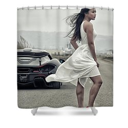 Shower Curtain featuring the photograph #cresta #p1 #print by ItzKirb Photography