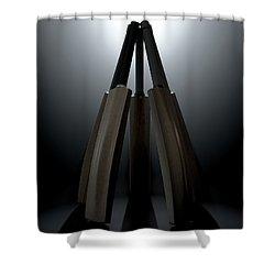 Cricket Back Circle Dramatic Shower Curtain