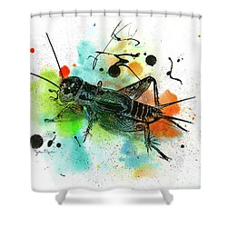 Cricket Shower Curtain