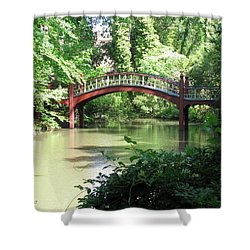 Crim Dell Bridge Iv Shower Curtain