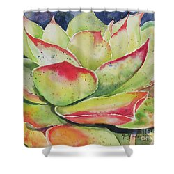 Crimison Queen Shower Curtain