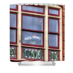 Cripple Creek Hotel Rooms 7880 Shower Curtain by Jerry Sodorff