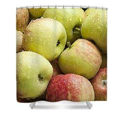 Crisp Wild Apples Shower Curtain
