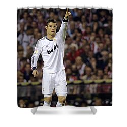 Cristiano Ronaldo 31 Shower Curtain