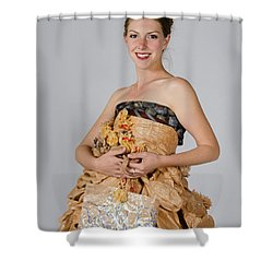 Cristina In Bring Your Own Bags Shower Curtain