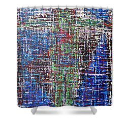 Cross 2 Shower Curtain by Patrick J Murphy